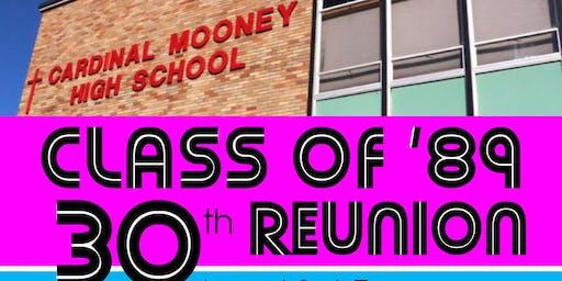 CARDINAL MOONEY CLASS OF '89 30th REUNION