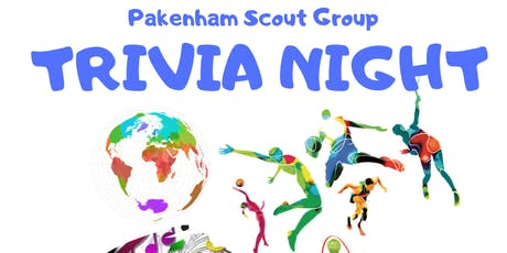Pakenham Scout Group Trivia Night tickets