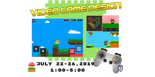 Video Game Design Summer Camp Session II @St. James Day School
