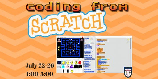 Coding from Scratch Summer Camp Session II @St. James Day School