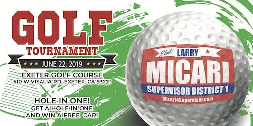 Micari4Supervisor  Golf Tournament