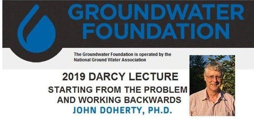Townsville, AU - 2019 Henry Darcy Lecture - Dr. John Doherty