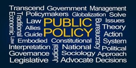 Masterclass: Influencing Public Policy tickets