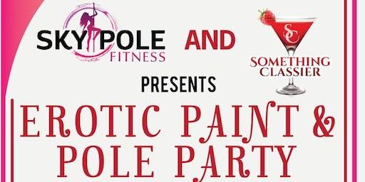 EROTIC PAINT & POLE PARTY