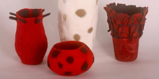 Sculptural 3D Felt Vessel Workshop