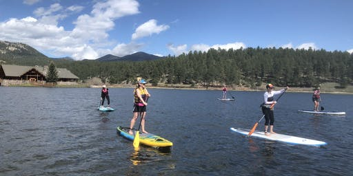 Women's SUP clinic + fitness paddle
