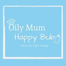 OilyMumHappyBub logo