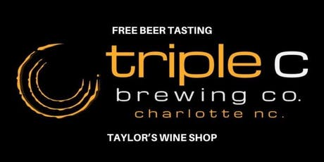 Free Beer Tasting - Triple C Brewing  tickets