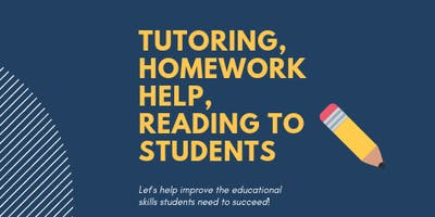 Tutoring, Homework Help & Reading To Students