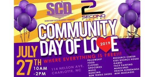 COMMUNITY DAY OF LOVE 2019