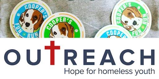 Cooper's Fun Run :: June 26 :: Benefiting Outreach