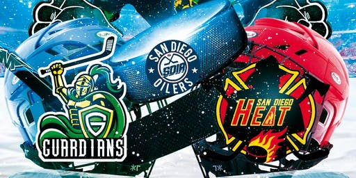 Guardians vs San Diego Heat Hockey Game