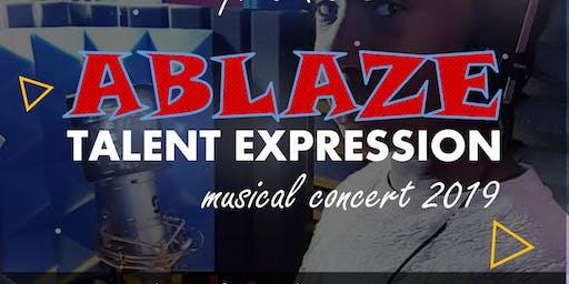 BIGG ABLAZE TALENT EXPRESSION  2019