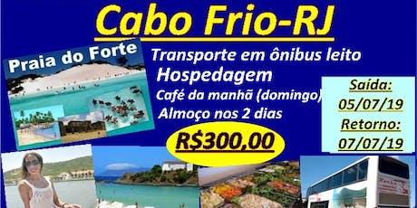 Cabo Frio Fim de Semana ingressos