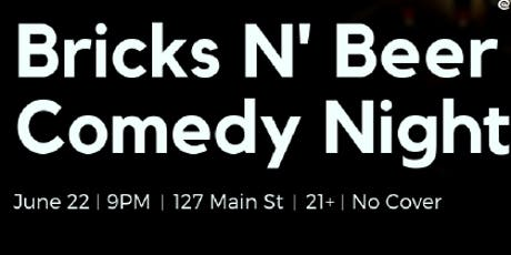 Bricks N' Beer Comedy Night tickets