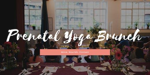 Prenatal Yoga Brunch