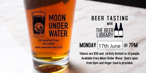 Beer Tasting with The Beer Library