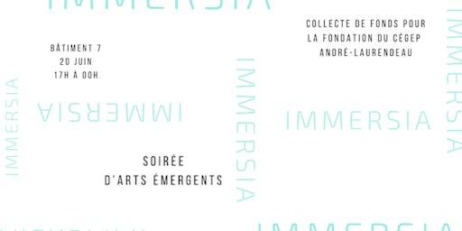 Immersia // Soirée d'arts émergents