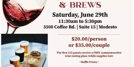 Uncorked,    Wine, Food Pairing and Brews Event