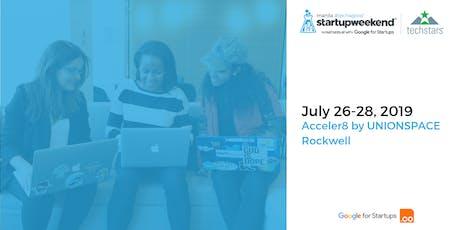 Techstars Startup Weekend Manila Tech4Good tickets