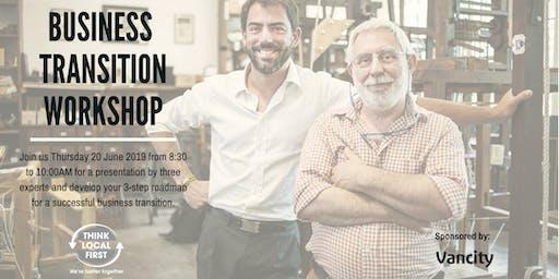 Business Transition Workshop