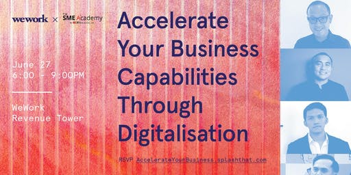 Accelerate Your Business Capabilities Through Digitalisation