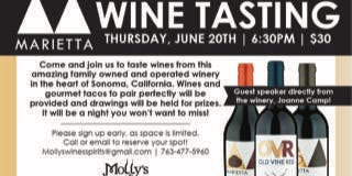 California Wines - Marietta and Gourmet Fish Taco dinner to pair!