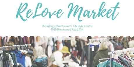 Calgary ReLove Market - Wardrobe Edition tickets