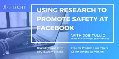 Using Research to Promote Safety at Facebook