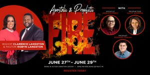 Apostolic & Prophetic FIRE with Apostle John Eckhardt