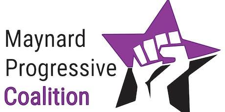 Maynard Progressive Coalition Launch Party tickets