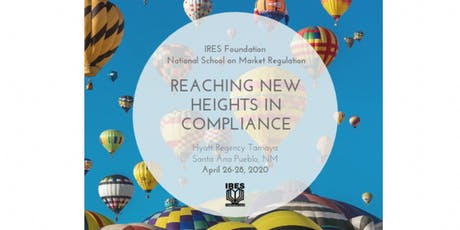IRES Foundation 2020 National School on Market Regulation tickets