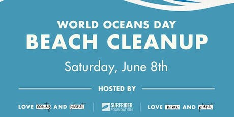 Community Beach Cleanup On World Oceans Day  tickets