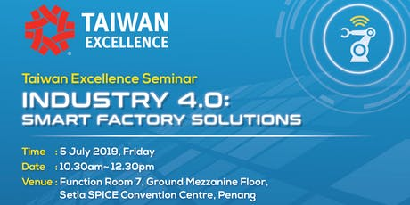 Industry 4.0: Smart Factory Solutions tickets