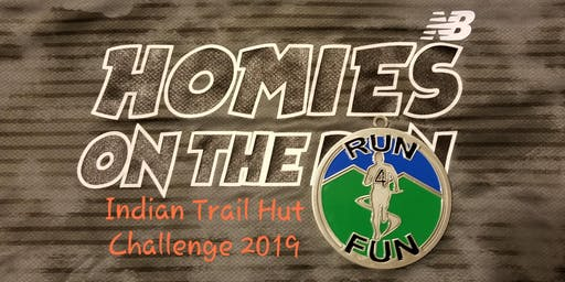 Homies on the Run 4 Fun Indian Trail Hut Challenge