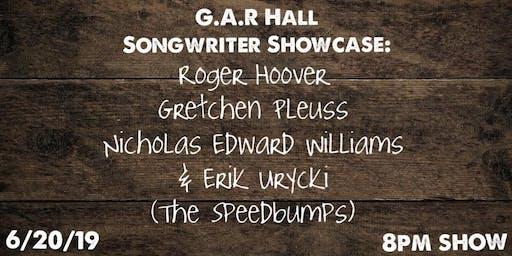 G.A.R. Hall Songwriter Showcase with host Erik Urycki