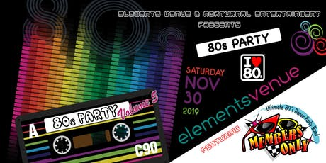 80's Party Volume 5 tickets