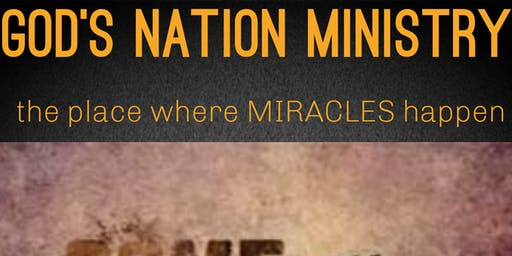 God's Nation Ministry Launch