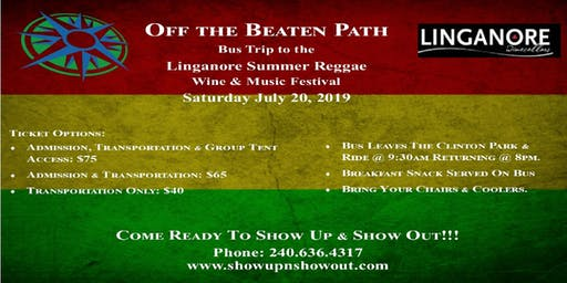 Off the Beaten Path's Bus Trip to the Linganore Summer Reggae Wine Festival