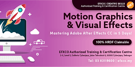 AUTHORISED TRAINING: Mastering Adobe After Effects CC in 5 days! tickets