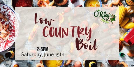 Low Country Boil at O'Riley's Downtown tickets