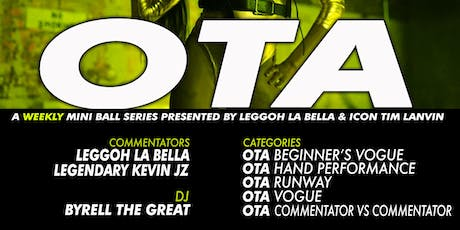 OTA - OPEN TO ALL - A weekly Ball Series tickets