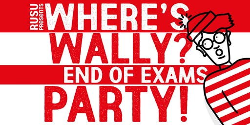 RUSU Presents: End of Exams - Where's Wally Edition