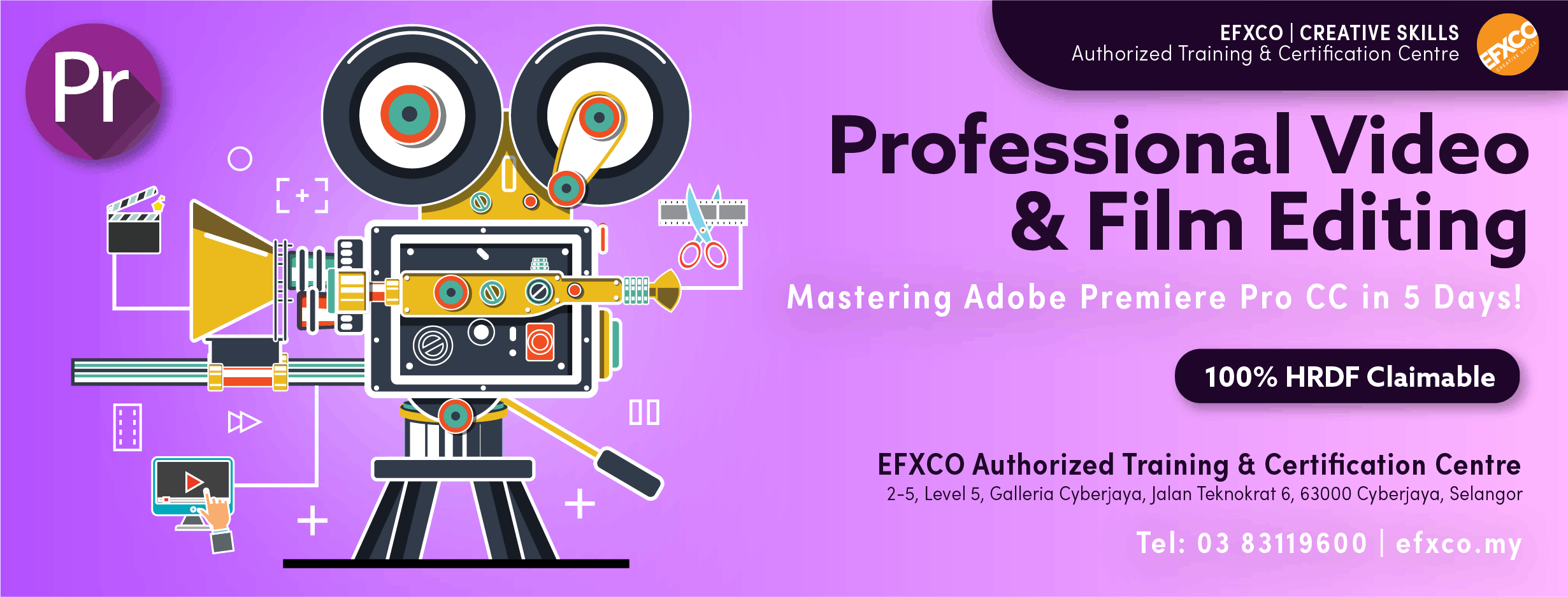 AUTHORISED TRAINING Mastering Adobe Premier Pro CC in 5 Days