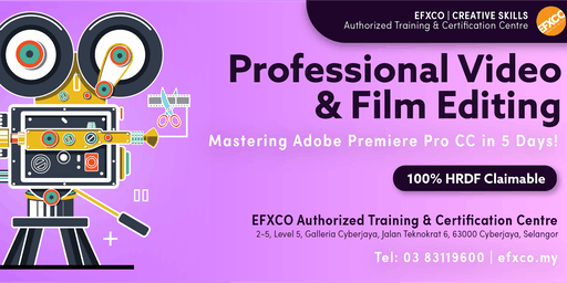 AUTHORISED TRAINING: Mastering Adobe Premier Pro CC in 5 Days!
