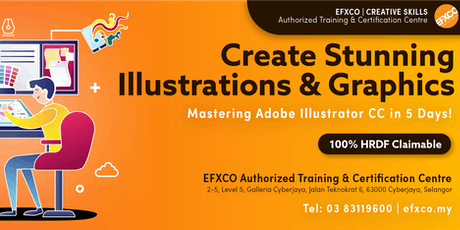 AUTHORISED TRAINING: Mastering Adobe Illustrator CC in 5 days! tickets