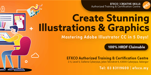 AUTHORISED TRAINING: Mastering Adobe Illustrator CC in 5 days!