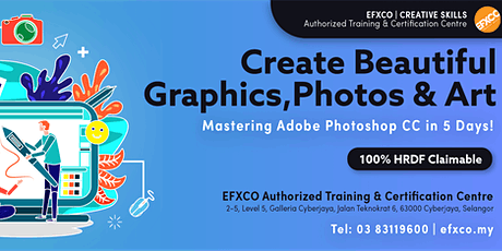 AUTHORISED TRAINING: Mastering Adobe Photoshop CC in 5 Days! tickets