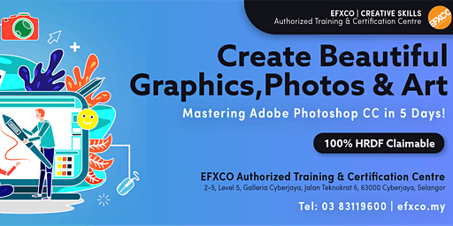 AUTHORISED TRAINING: Mastering Adobe Photoshop CC in 5 Days!