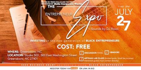 The Entrepreneur Expo tickets